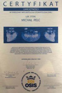 Michal_Pelc_19_certyfikat